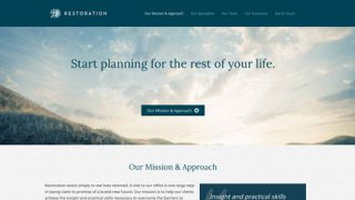 Restoration Counseling Website